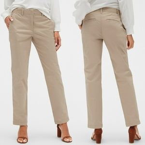 GAP Khakis Broken In Straight Leg